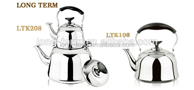 LTK151 Stainless Steel Mirror Polish Water Kettle