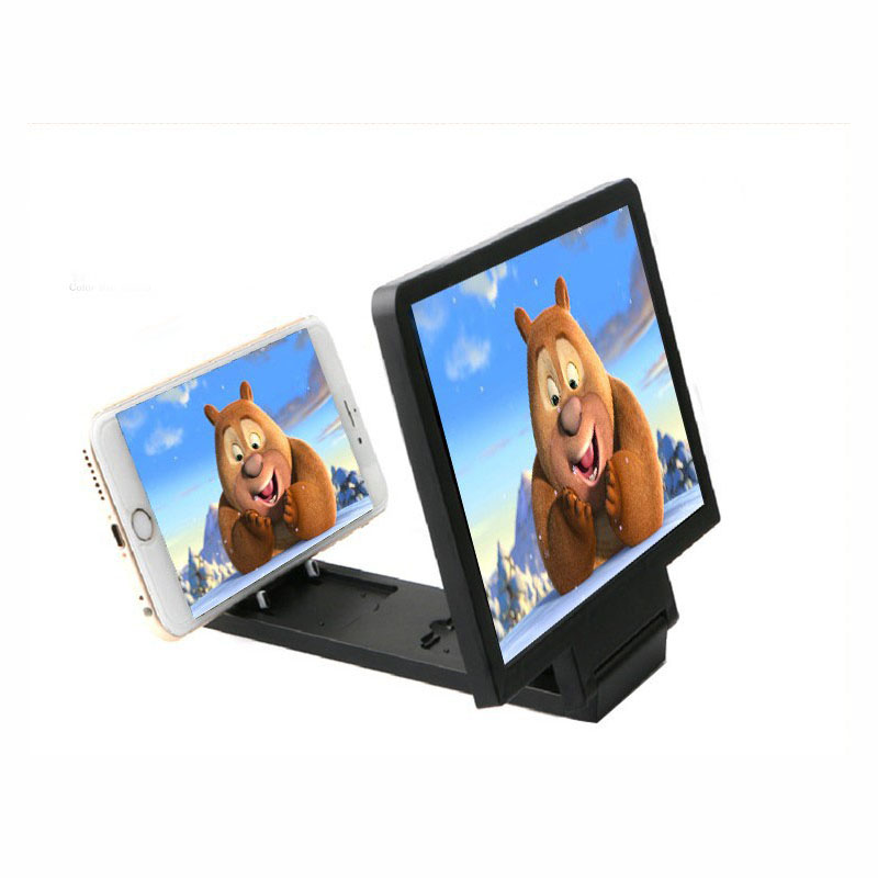 Mobile Phone Screen Magnifier 3D Video Screen Amplifier Folding Enlarged Magnifier for Mobile Phone