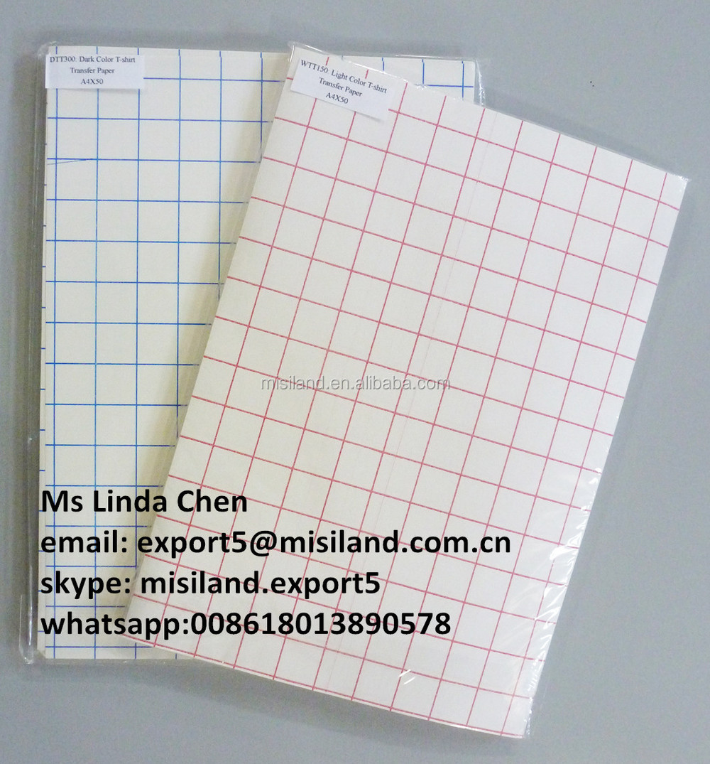 photograph about Printable Iron on Fabric known as Easiest Aw Good quality Import Articles : White Colour T-blouse Warmth Shift Paper (inkjet Iron-upon Printing Paper) For Cotton Material - Get White Coloration Move