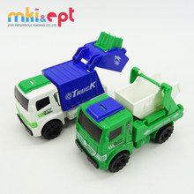 High quality kids toys friction car toys sanitation truck toy for sale