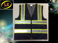 Navy Blue Reflective Vest