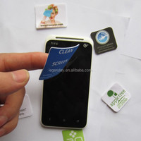 High Sticky Imported Microfiber Cloth Mobile Phone Screen Cleaning Pad With Free Sample
