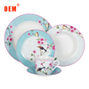 2017 OEM china ceramic tableware,good quality chinaware porcelain ,dinner sets for wal-mart supermarket