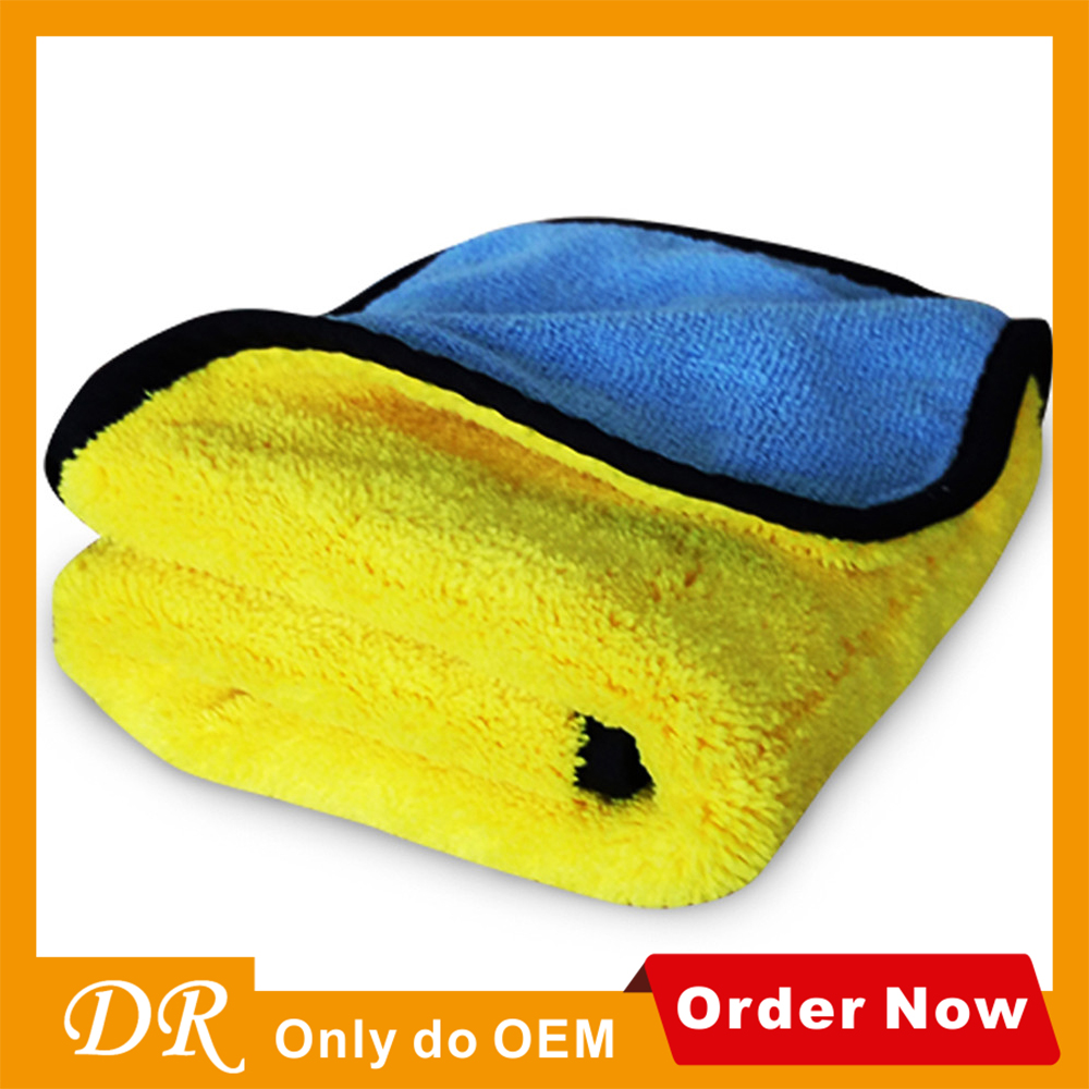 Hebei towel factory customized label/logo car microfiber towel,clean microfiber towel
