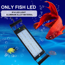 Free sample dsuny Aquatic plants lights fish bowl submersible ctlite dimmable range hood thunder storm led aquarium clip light