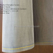 Fiberglass invisible window&door screen material,plastic coated window&door screen