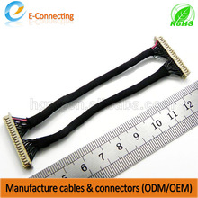 Cheap Price China manufacture lvds cable with attached mini usb connector