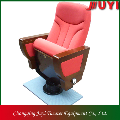 JY-999M Cinema chair theatre chairs for sports authority silla de madera