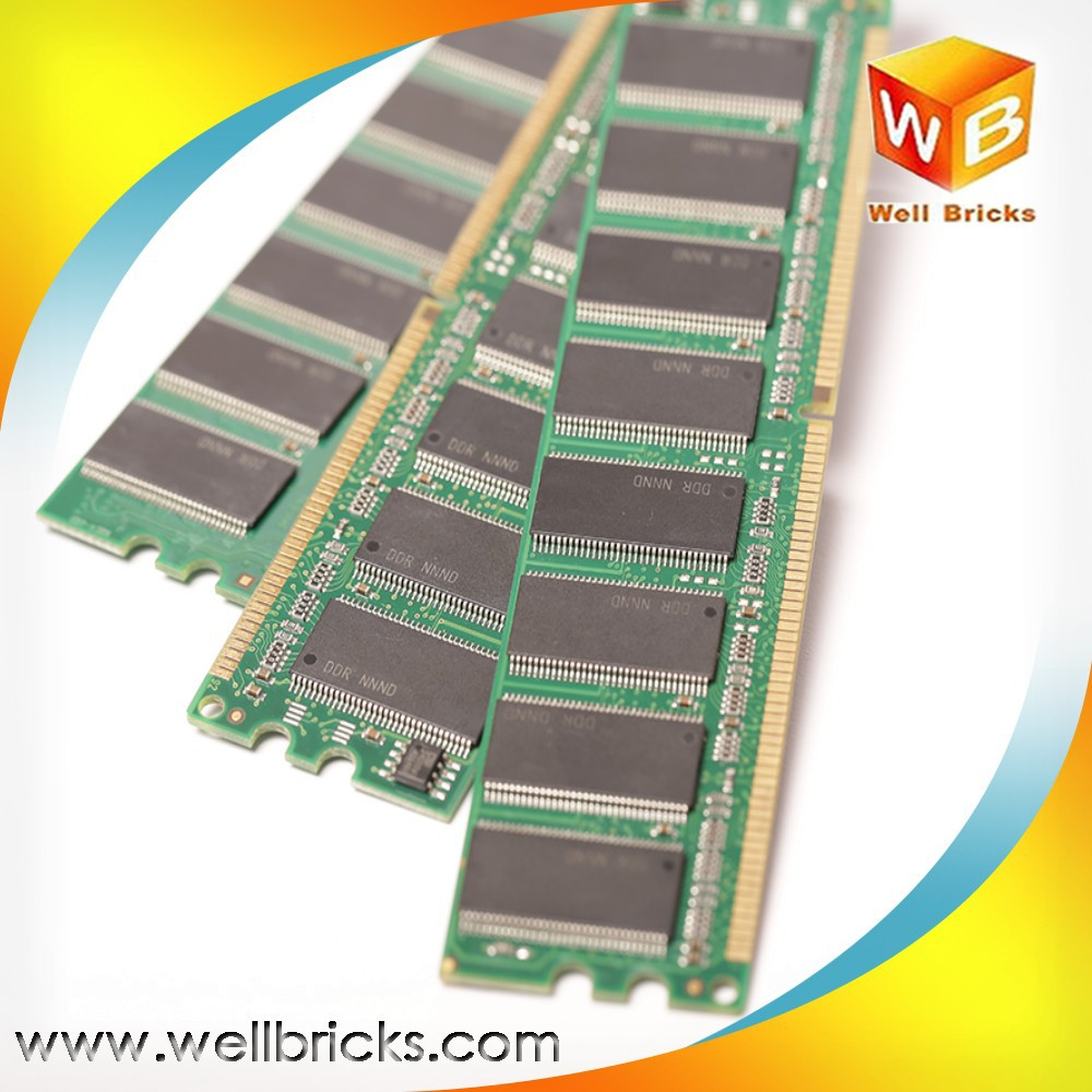 Taiwan desktop best price wholesale motherboard 400MHz 512mb ddr1 ram price
