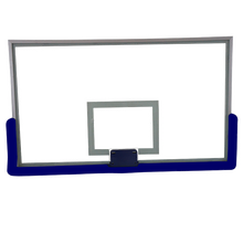 Tempered Glass Basketball Backboard with Pad