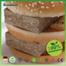 Zero formaldehyde emission particle board