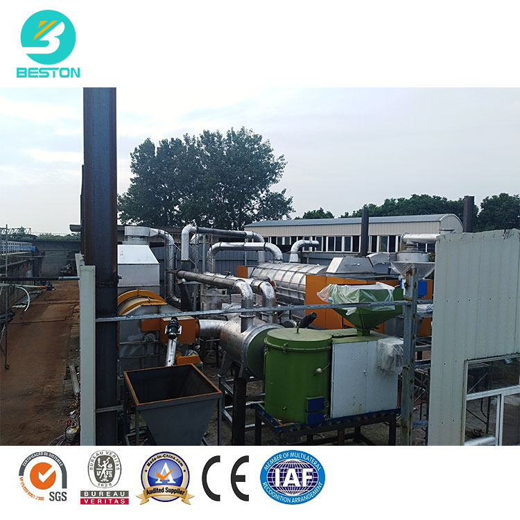 Grape stalk corn straw ydrothermal carbonization machine