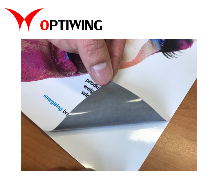 vinyl sticker printing material for car decorating