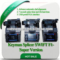 Keyman splicer SWIFT F1-Super version/optical fiber splicer