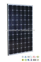 Hot sale !quality 255 wp mono solar panel&255 watt monocrystalline solar module 60M