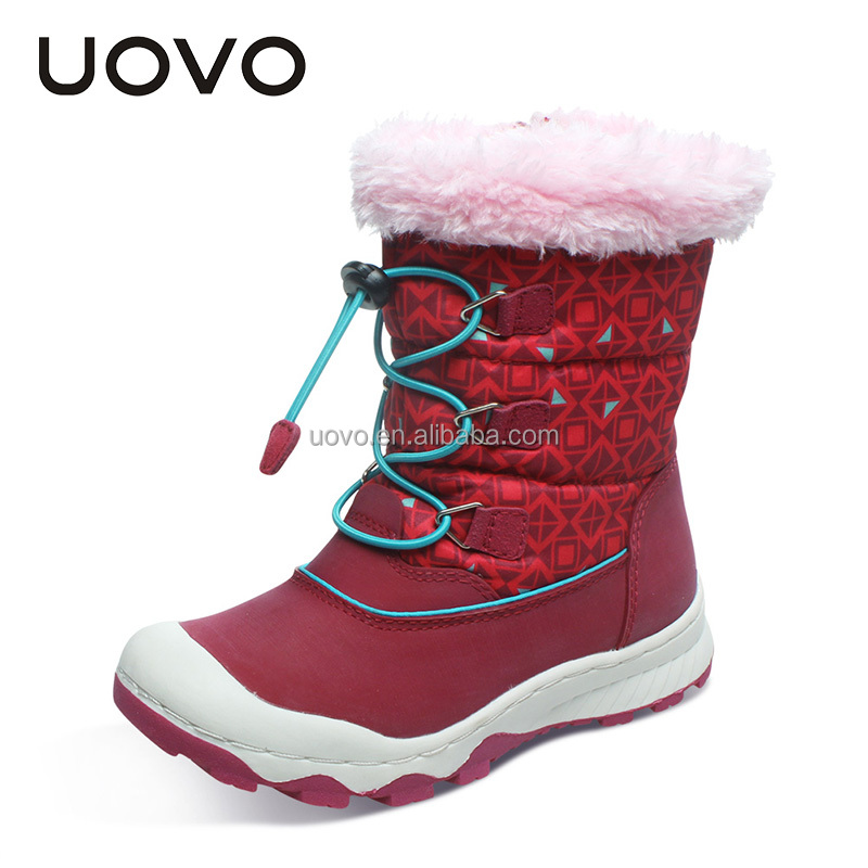 hot sale stylish child outdoor winter snow boots