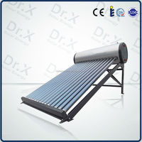 2016 new type of non pressurized vacuum tube solar collector