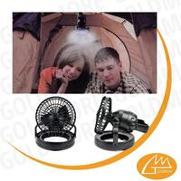 Folding Deluxe Combo Fan rechargeable lanterns with hook