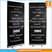 Specially electronic rolling display, pull up stand banner