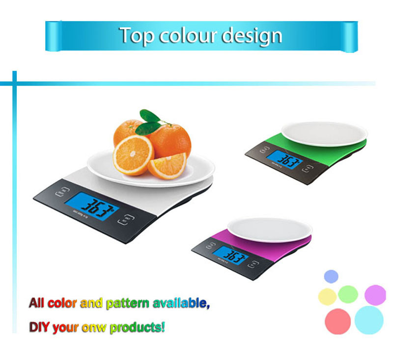 Sunny GP-KS026 2015 New Design ABS Digital Scale for Kitchen