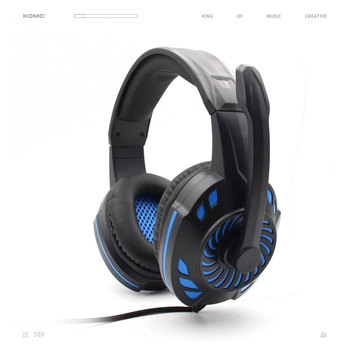 KOMC New Patent Design LED Glowing Headset,Support PC/PS4 Gaming Headphone