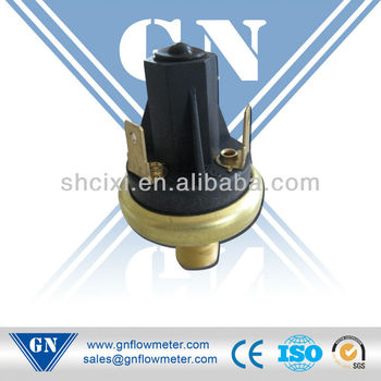 water heater gas pressure switch