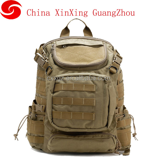 Outdoor mountaineering backpack with MOLLE system 3P attack tactical camouflage waterproof walking shoulder bag