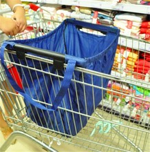 thermal insulated shopping bag shopping grocery cart bag novelty reusable shopping bag