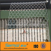 Reverse twist Stainless hexagonal wire netting used for animal cage (factory)