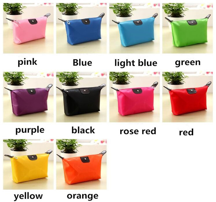 Hot sales  colorful wholesale lady custom cosmetic bag travel makeup beauty bag_12