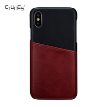 High Quality Leather Mobile Phone Case for iphone X Cases Cover for iphone Wallet