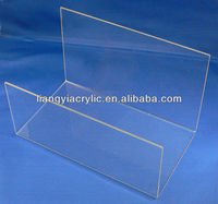 Clear Acrylic U-shape Display for Hair Claws, jaw clips