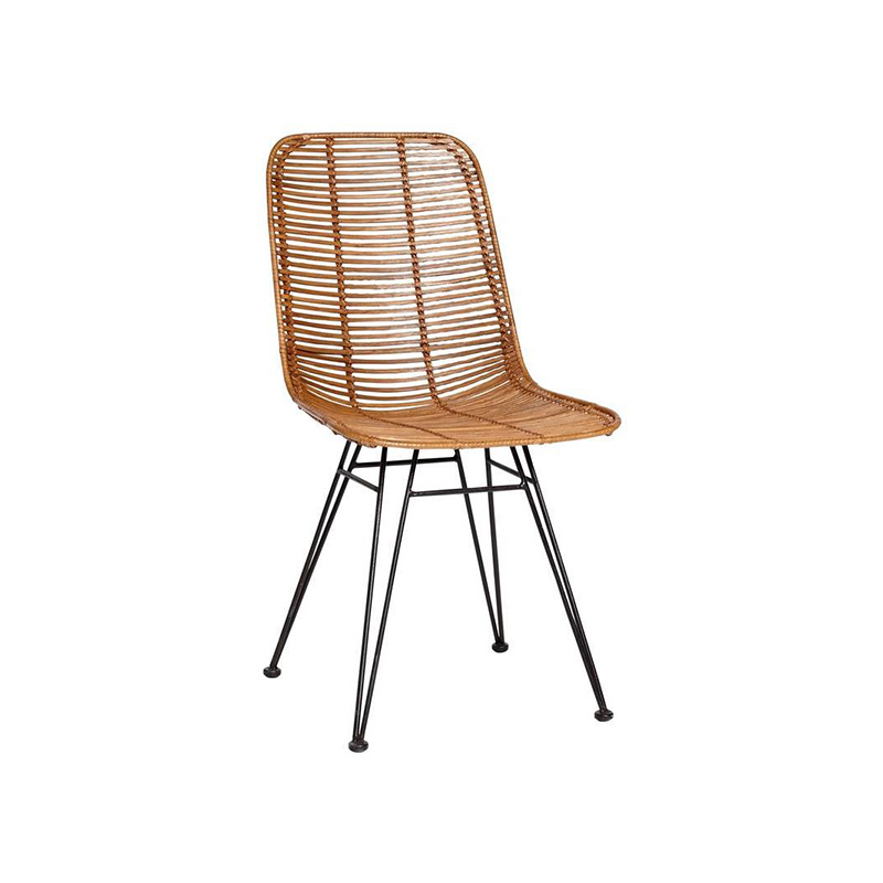 New design rattan dining chair for garden