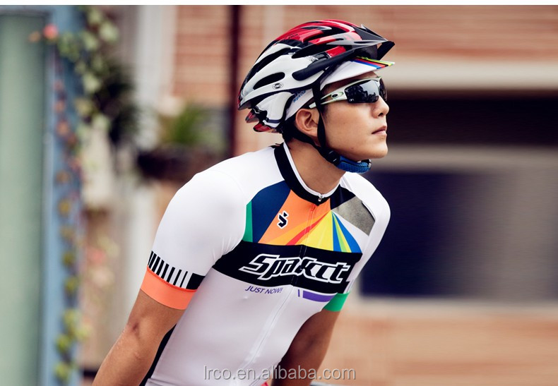 custom men cycling jersey and shorts bicycle clothes design bike cycling short sleeve jersey