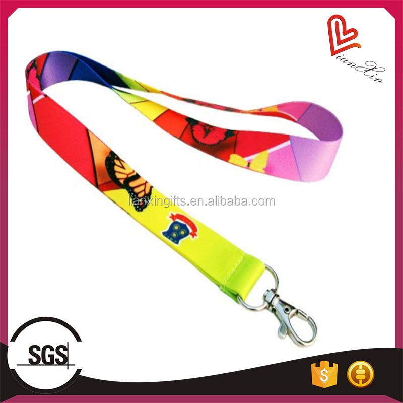 customized sublimation lanyard for any activities company meeting agency