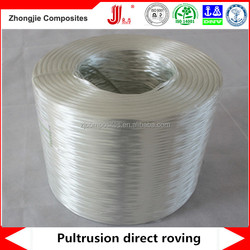 FRP pultrusion fence material 2400tex fiberglass direct roving JUSHI 386T