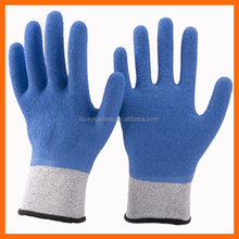 Full Latex Coated Cut Resistant Gloves for Glass Handling