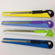Retractable 9mm metal high carbon snap blade cheap utility knife wholesale