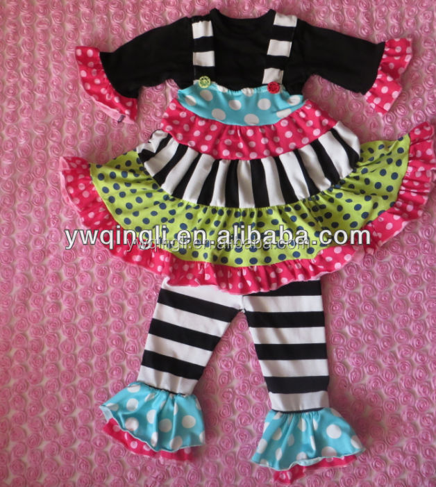 Persnickety baby clothes 3pieces outfits t-shirts dress and the pants for clothes