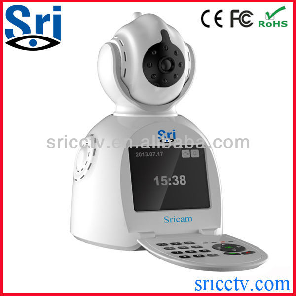 Sricctv Free Video Call Local Monitor Remote Monitor p2p wireless wan ip camera wan camera