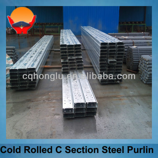 Metal Building Material Steel C Section Purline