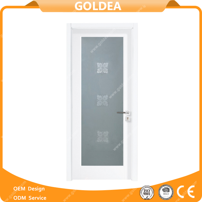Plain Wooden Door PVC Plastic Interior Door