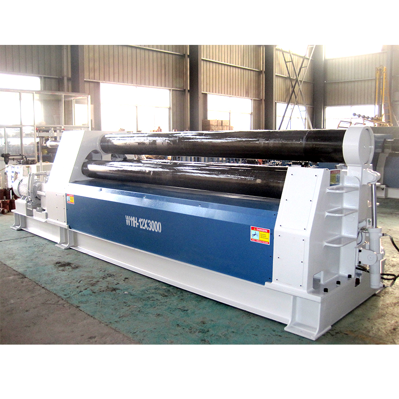 hydraulic 3 rolls metal sheet bending machine