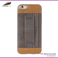 "5"" 6 inch mobile phone Flip Cover Cases For iPhone 6 genuine Leather Case,For iPhone 6 Case,For iPhone6 Case wallet"