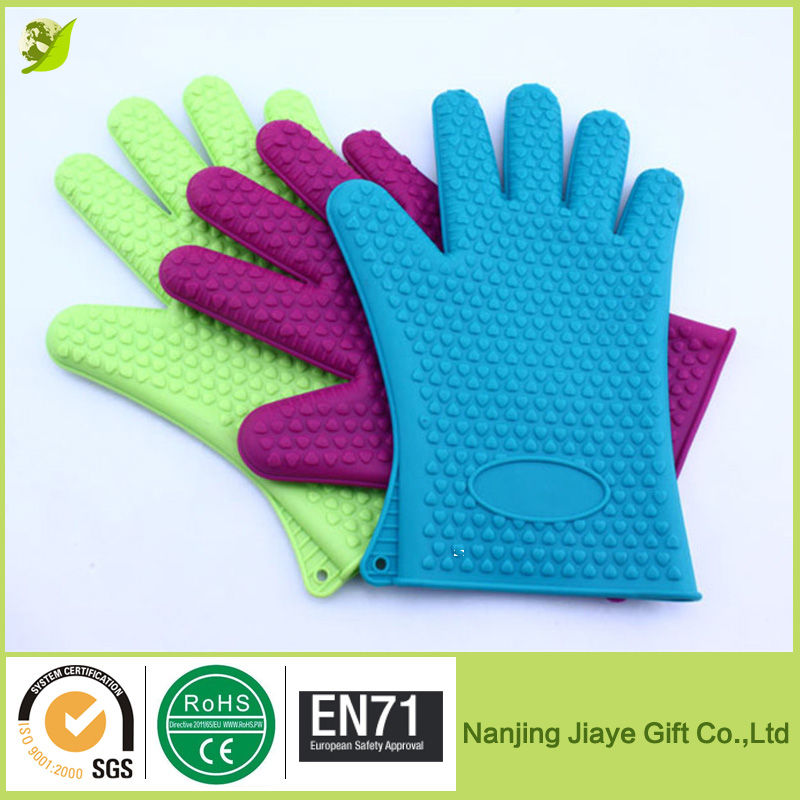 Food Grade Heat Resistant Oven Gloves Silicone