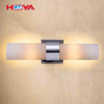 2 Head Led Polished Chrome Vanity Fixture Wall Sconces Bath Light