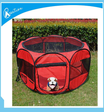 Folding Fabric Pet Playpen Dog Cat Puppy Play Pen