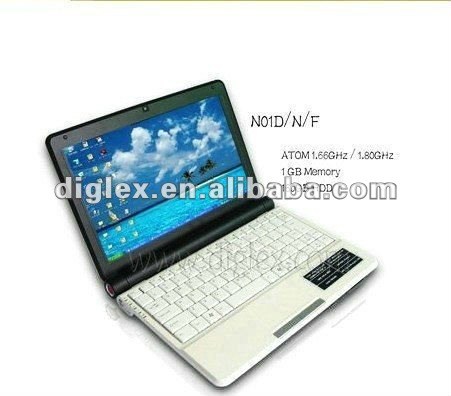 2012 hot sell 10.2 inch China cheap mini laptop