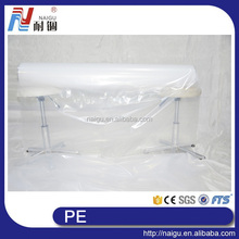 China NaiGu manufacture big size transparent plastic PE packaging bags