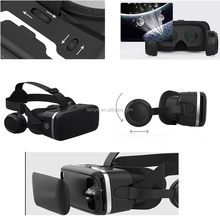 2017 Virtual Reality 3D Glasses HiFi Earphone Headset Support Playing Game